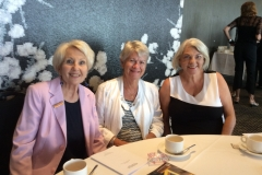 Glenda Smart, Marina West and new member, Veronica