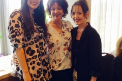 Betty and Anne Dargie with Catherine Casey