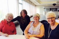 Kathy Watson, Irene St John, Pat Doody and Klara Kaye