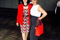 Benevolent Treasurer Pat Scroope and Monique Montez