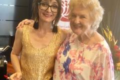 Katie Little with Kathy Watson