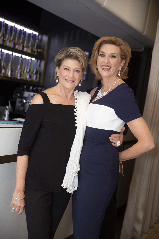 Tina Bursill and Susie Smither
